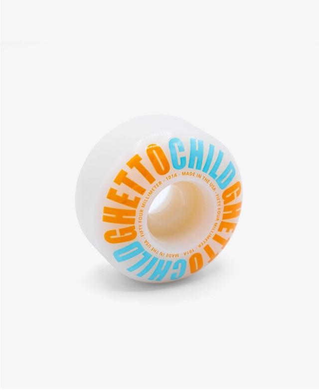 GHETTO CHILD CLASSIC LOGO WHEEL 54MM 101A