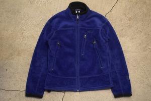 USED 00s patagonia R4 Jacket Ridge Blue -Small F0797