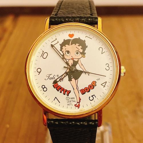 Betty Boop 90`s Tali Black Dress ウォッチ