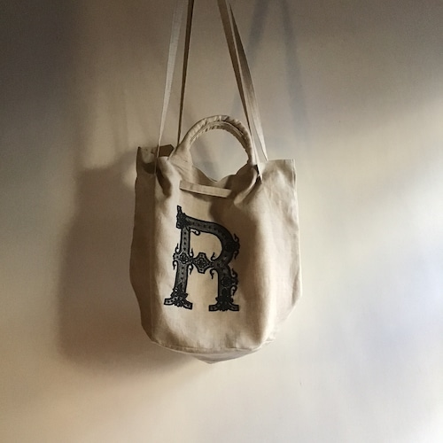 R&D.M.Co-/OLDMAN'S TAILOR Embroidery Drawstring Bag