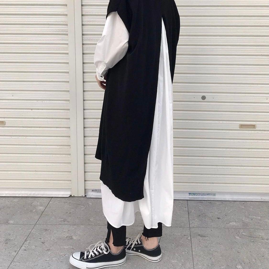 【 siro de labonte 】- R143107 - 32/2 cotton long vest