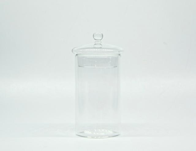 クローズドテラリウム用ガラスキャニスター(S-size)《苔テラリウム・コケリウム用》