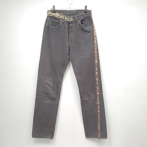 【DUST AND ROCKS made】Levi's 501 リメイクデニム