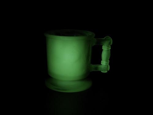 ウランガラス 子供用のコップ アメリカンビンテージ Boyd Glass