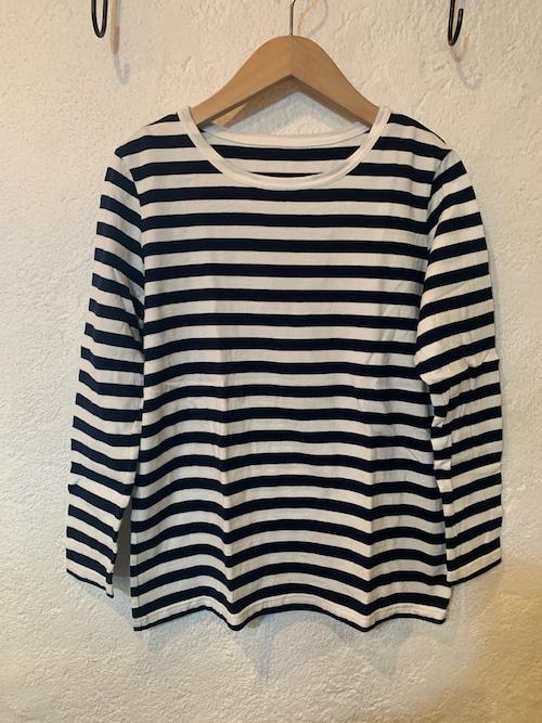 seasew./ボーダー長袖Tシャツ S、M、L