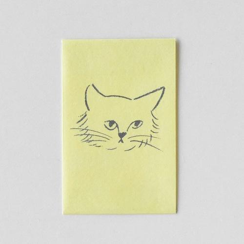 mm ぽち(多目的) Cat face Stray S