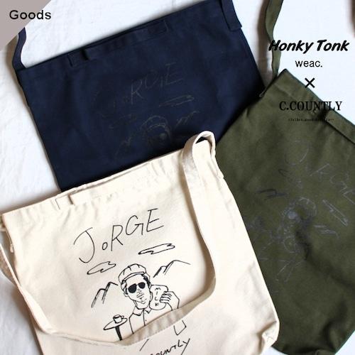 【別注】Honky Tonk weac. NATURE JORGE - 2Way Canvas Bag 3カラー
