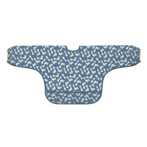ロングスリーブビブ グラマ ラマ ブルー(LTEXBLS9435)