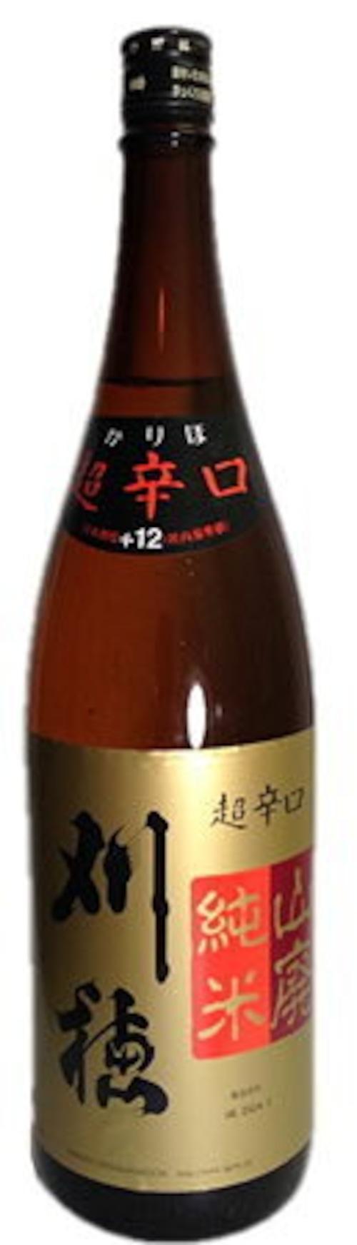 刈穂 山廃純米 超辛口 1800ml