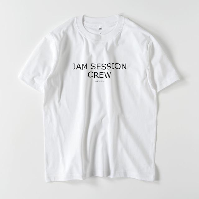 JAM SESSION CREW T (WHITE)