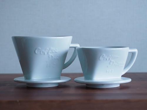 有田焼 コーヒードリッパー 2杯用 ホワイト