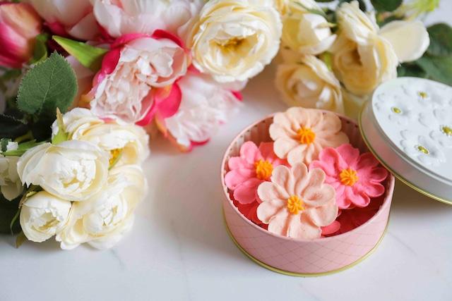 【送料無料✿コスモス】お花のぼうろ<20缶セット>