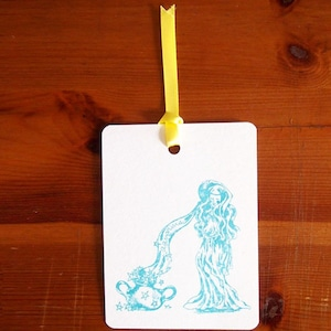 星座カード Aquarius
