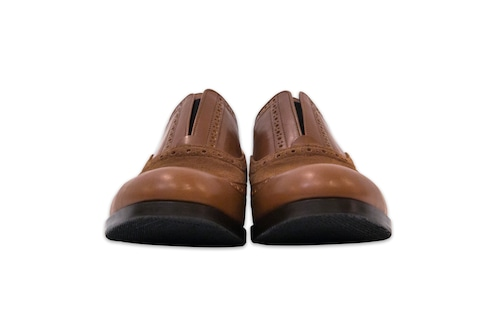 tomotaka limited by salon de GAUCHO special combi shoes/brown 538-542
