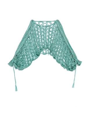 21SS Drape Sleeve Knit  TOPS