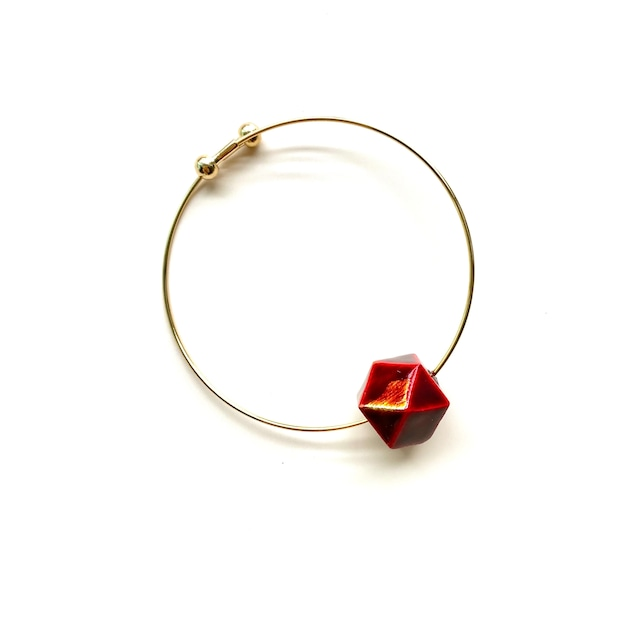 SBL004 飛騨春慶のブレスレット 紅箔
