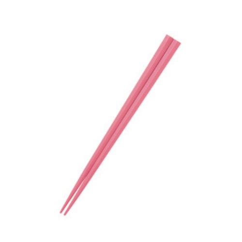 五角形21cmPBT箸  ピンク【OGH-7PI】