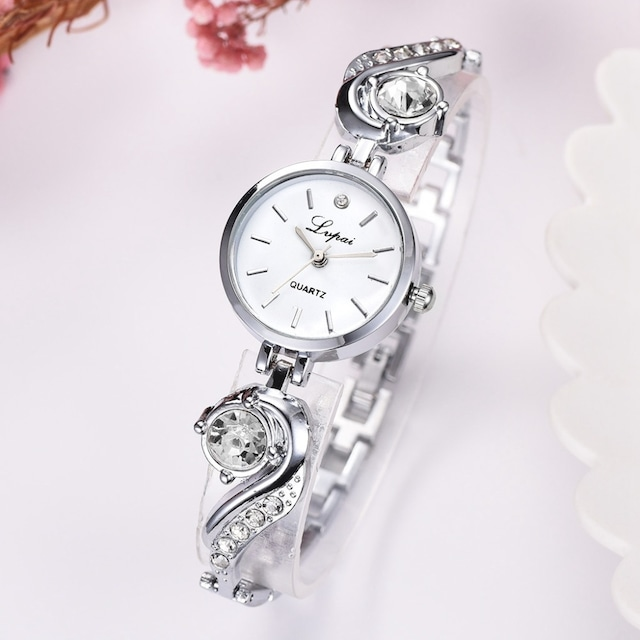 LVPAI LT-R1787(silver-white) レディース腕時計
