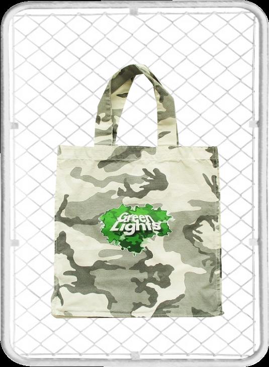 Green Lights Bag / グリーンライツ 特大トートバッグ