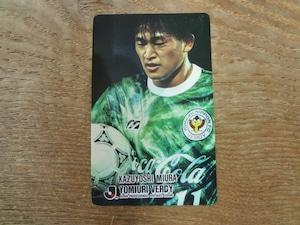 三浦知良 1993年 カルビー Jリーグ