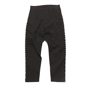 Enharmonic TAVERN Side Studs Sarrouel Pants -Black < LSD-AH3P2 >