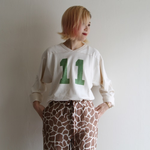 PHEENY【 womens 】 football long sleeve tee