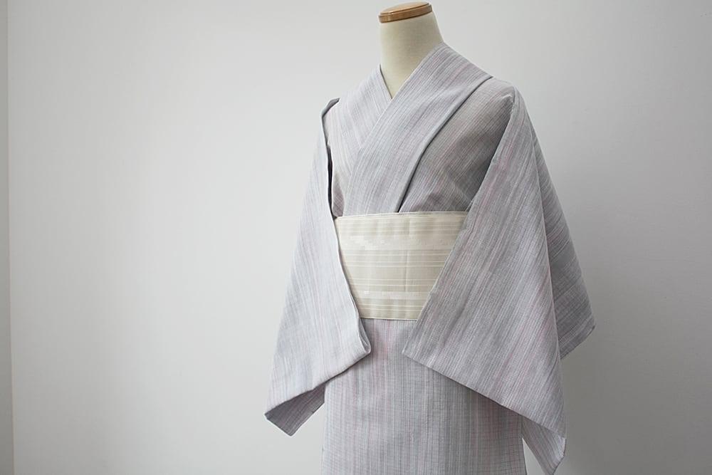 【オーダーメード】お仕立て付 誂え    浴衣・夏着物 綿紅梅 「穀雨 こくう」