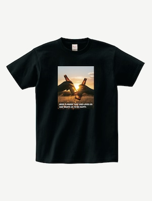 BEER IS PROOF TシャツBP0002BK