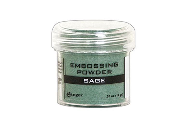 Ranger Embossing Powder Sage Metallic /エンボスパウダー