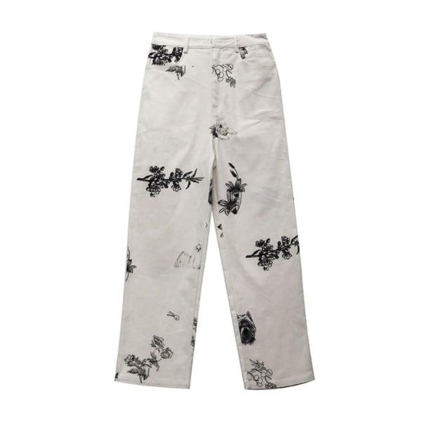 Botanical & animal pants(ボタニカル&アニマルパンツ)b-292