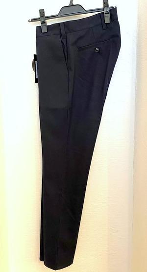Gabardine Stretch Slacks Pants Navy