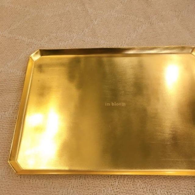 ゴールドレクトトレー Lサイズ