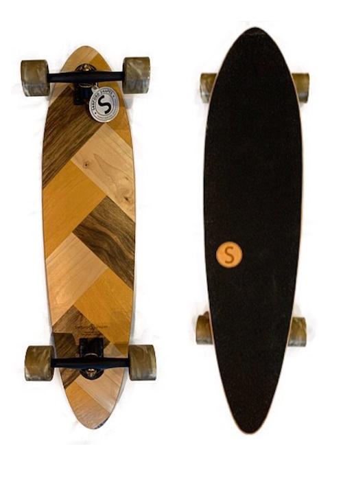 Sanford Shapes MAKO スケートボード 92cmx24cmx14cm