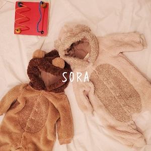 シロクマ&ライオン ロンパース