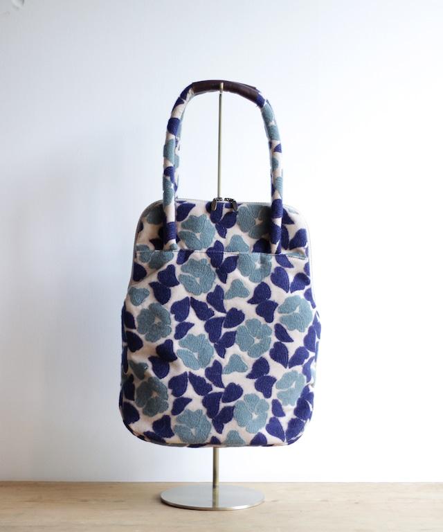 椿刺繍のバッグ  (BAG006)