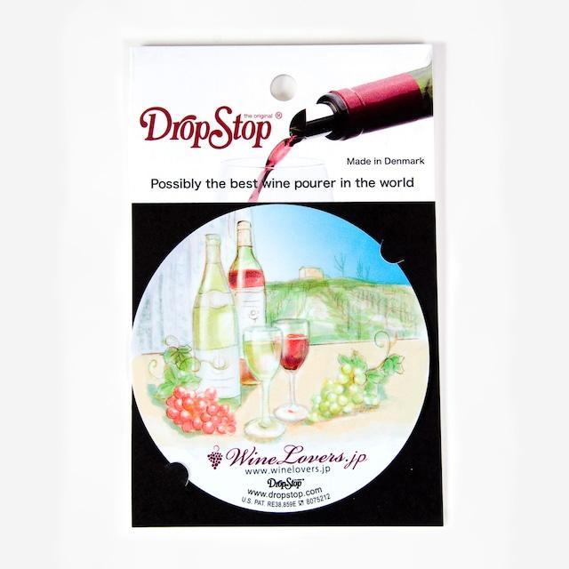 【アウトレット】ワインの液だれ防止 ドロップストップVol.1 / グローバル 1枚入り DropStop DSS001