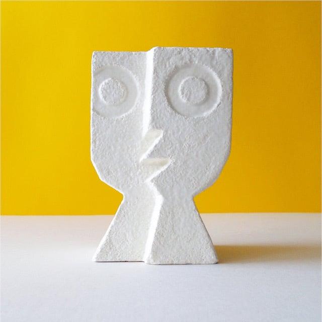 Peter Slight ceramics Medium Head SPLIT LEVEL / MH01