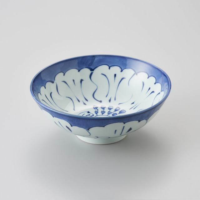 "【青花】""Classic"" 6.5寸中華丼(芙蓉)"