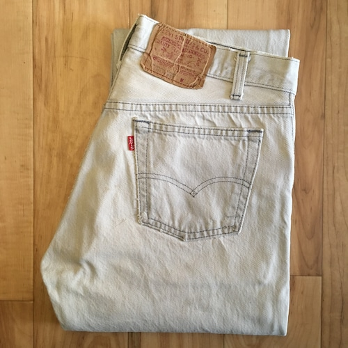 """Levi's 501  W31 inch """"MADE IN USA"""" <Bleached>"""