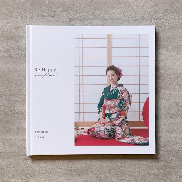 Tree's Board(Brown)-成人式_A4スクエア_6ページ/10カット_クラシックアルバム(アクリルカバー)