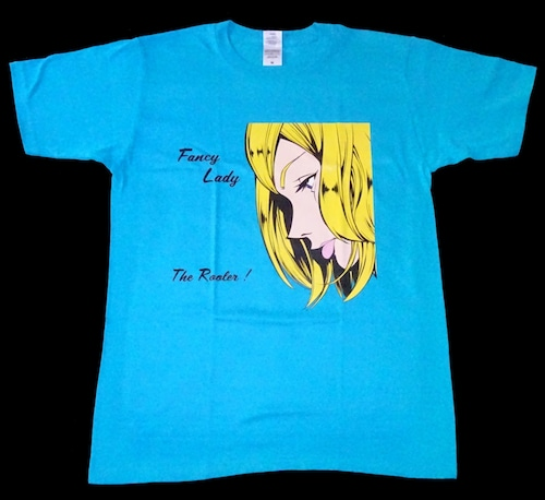 THE ROOLER ! ROCK T-SHIRT【Turquoise Blue】