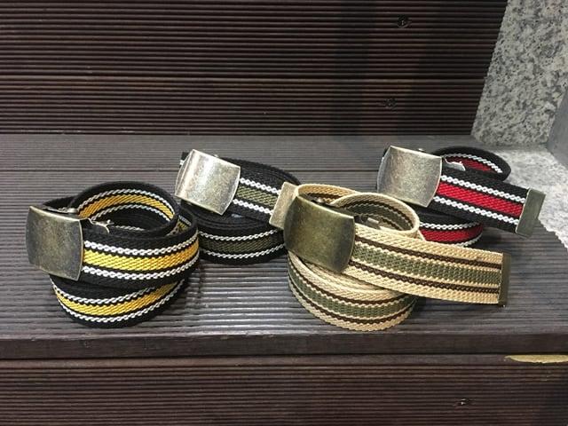 Nobrand Line Long Belt 【re:stock】