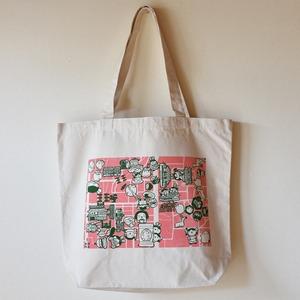 きたまちトート 桜×お茶