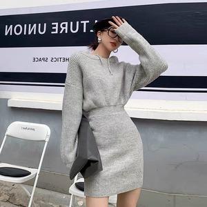 sweat pattern dress