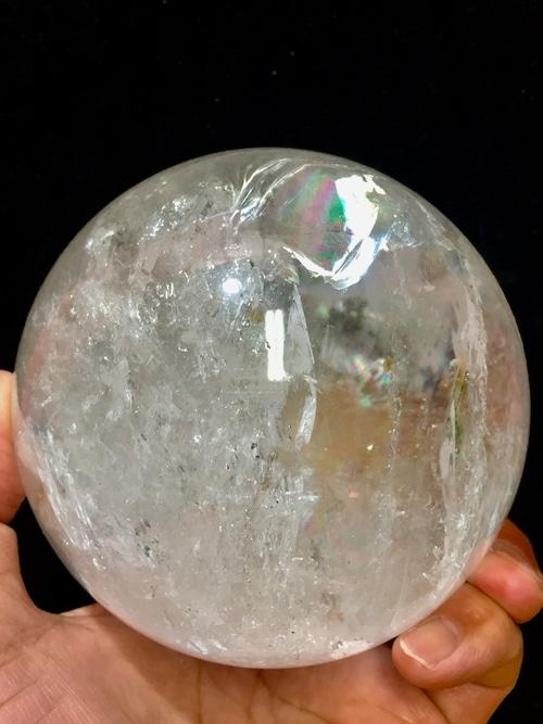 2) 採掘初期オリジナル鉱山産・大型レムリアン・シード丸玉