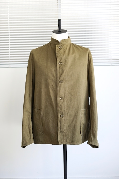 <SOLD OUT >Czech Military - Mao Collar Work Jacket Dead Stock