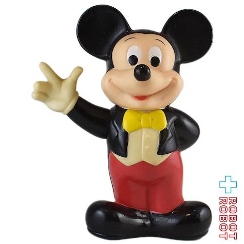 東京ディズニーランド ミッキーマウス ソフビ貯金箱 タキシード 燕尾服