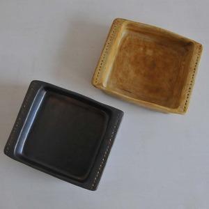 鈴木史子 耐熱グラタン皿(正方形)小