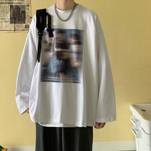 フォトプリントロングTシャツ YH9836