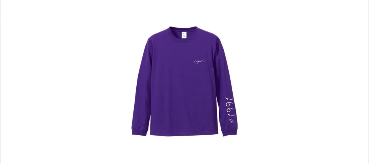 1991 long T-shirts (PUR)